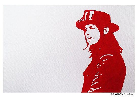 Jack White/The White Stripes by House Of Wonderland