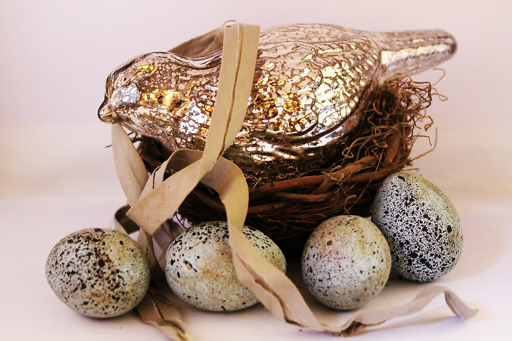 Mercury Bird Nest by RebekahShay