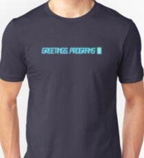 Greetings Programs T-Shirt