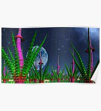 Garden of Alien Delights Poster