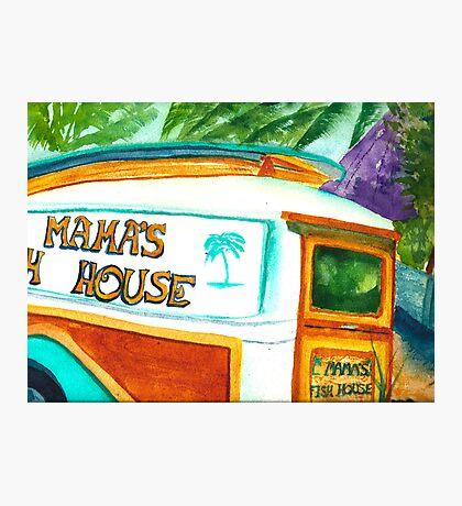 Mama's Fish House Photographic Print