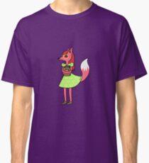 Bookworm Fox Classic T-Shirt