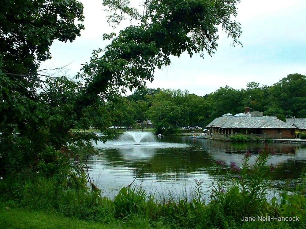 Verona Lake Park In June - Very Green!!! [Verona, NJ] by Jane Neill-Hancock