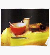 Breakfast at Dawn Poster