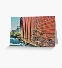 Rolling Stock Grapevine, TX  Greeting Card