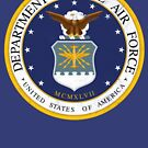 Dept of the Air Force by Tasty Clothing