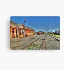 The Depot  Grapevine, TX  Canvas Print