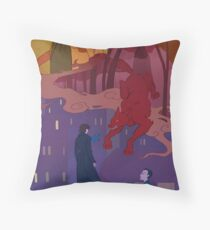 you told me once that you weren't a hero Throw Pillow