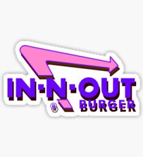 Futuristisches In-N-Out Sticker