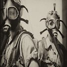 Gas Mask Girls by Tasty Clothing