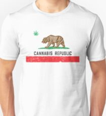 Vintage Cannabis Republic T-Shirt