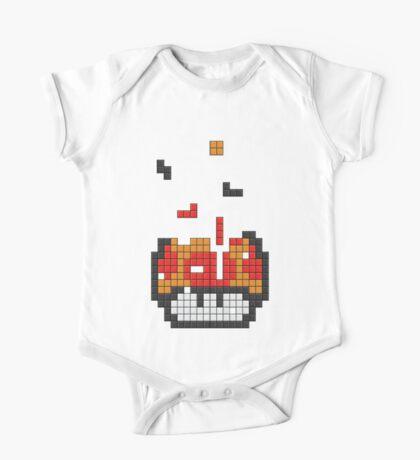 Super Mario Mushroom Pixel Kids Clothes