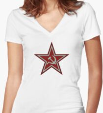 MW3 Spedsnaz Women's Fitted V-Neck T-Shirt