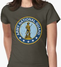 Army National Guard Vintage Women's Fitted T-Shirt