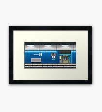 Parliament Station (Melbourne Series) Framed Print