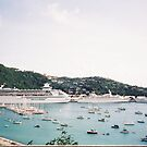 Cruise Ships in St. Thomas, Caribbean by lenspiro