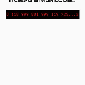 in Case of Emergency call... by DaveDelBen