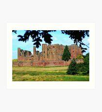 Kenilworth Castle Art Print