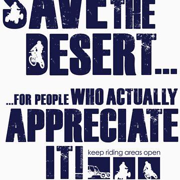 Save The Desert T-shirt by Janja