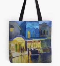 The Airdome & Blue Bird  Tote Bag