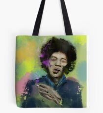 Jimi Colourised  Tote Bag