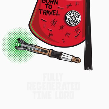 FULLY REGENERATED TIME LORD by ToddWilhelm
