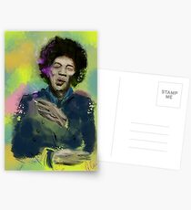 Jimi Colourised  Postcards