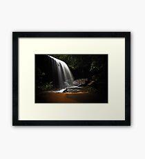 Falling Light Framed Print