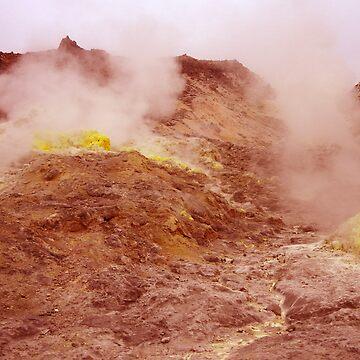 Sulfur Mountain by suemari