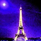 Eiffel Tower by Mariko Suzuki