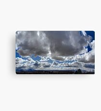 Clouds HDR Canvas Print