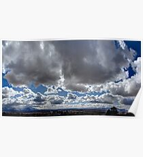 Clouds HDR Poster