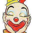 Clown Pencil Rendering 2 by jsalozzo