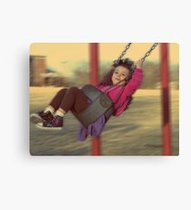 remember when life was this easy Canvas Print