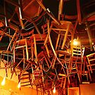 chairs. melbourne cbd, australia by tim buckley | bodhiimages