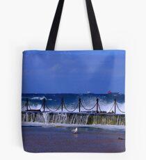 Newcastle Ocean Baths Tote Bag