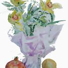 3+2 - Flowers with apple and pear by Dmitri Matkovsky
