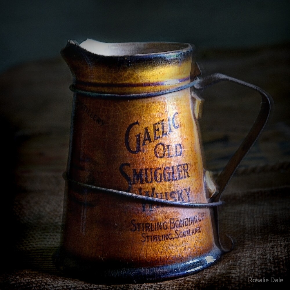 Gaelic Old Smuggler Whisky ~ Monte Cristo, Junee NSW by Rosalie Dale