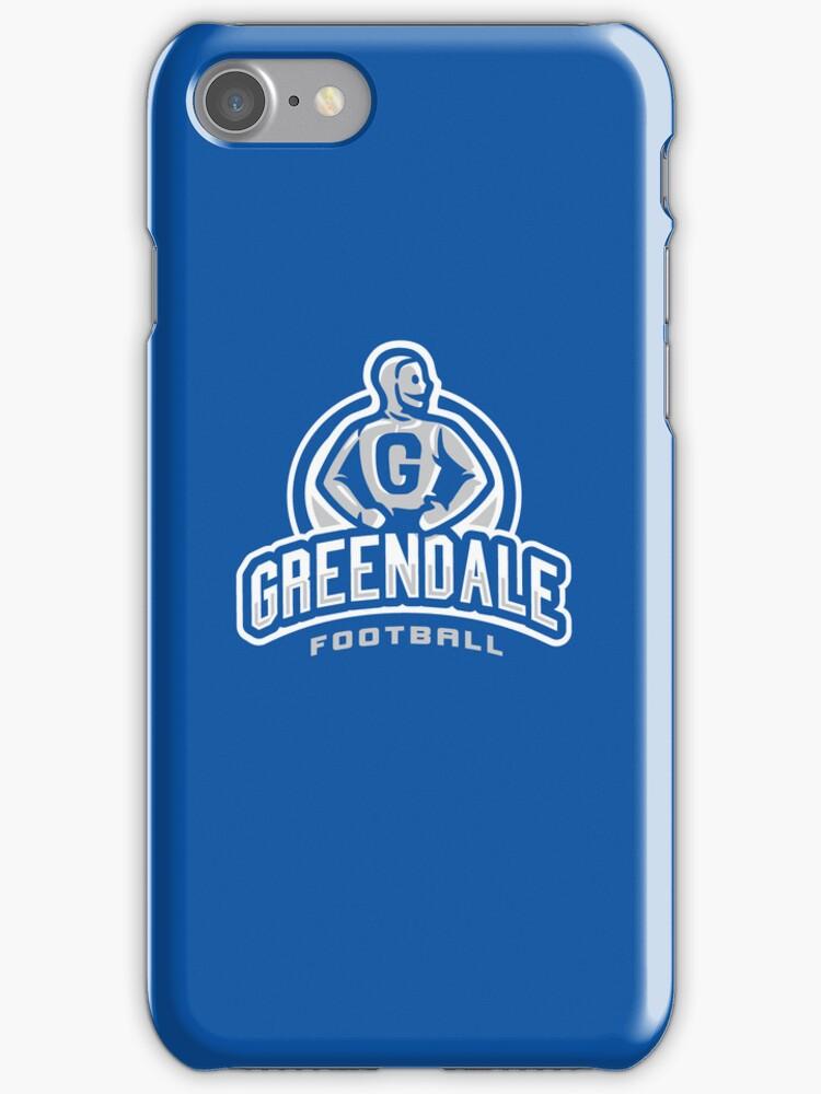 Greendale Football - IPHONE CASE by WinterArtwork