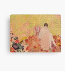 The Pink Slippers  Canvas Print