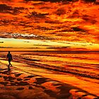 Blanket of Red and Gold by Jill Fisher