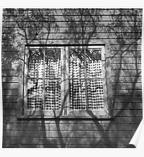 Shadowed Window Poster