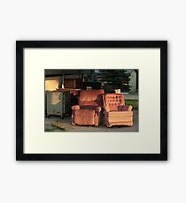 Roadside Recliners Framed Print