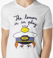 The Travelling Lemon Men's V-Neck T-Shirt