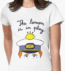 The Travelling Lemon Women's Fitted T-Shirt