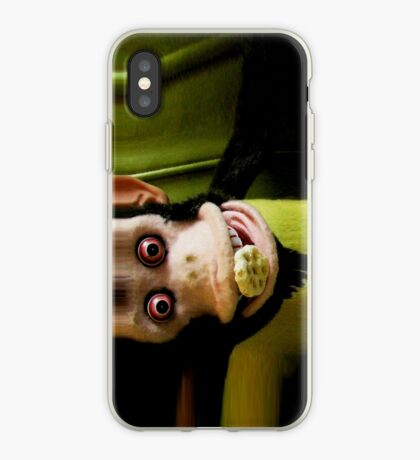 Musical Jolly Chimp Enjoys His Cereal iPhone iPhone Case