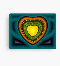 Julia Apo #5: Heart of Gold  (UF0666) Canvas Print