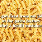 Pasta. by Pundamentalism