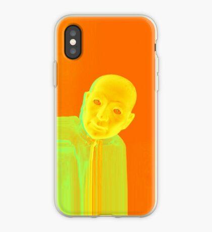 Hugo Man of a Thousand Faces iPhone orange iPhone Case