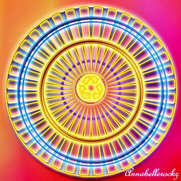 WHEEL OF COLOR by Annabellerockz